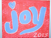 JOY - One Little Word for 2013