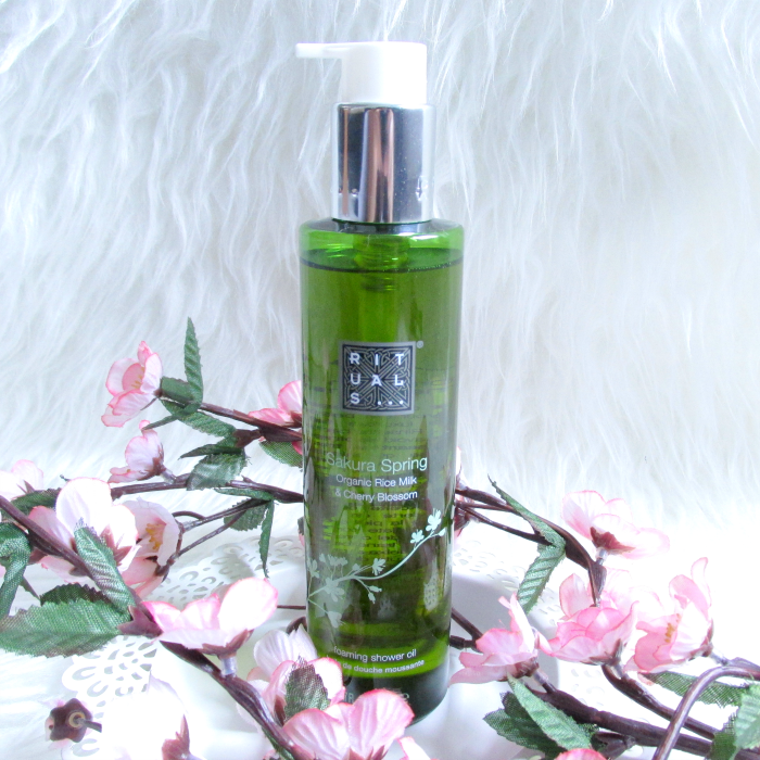Review: RITUALS Sakura Spring Foaming Shower Oil - 200ml - $15.00 USD