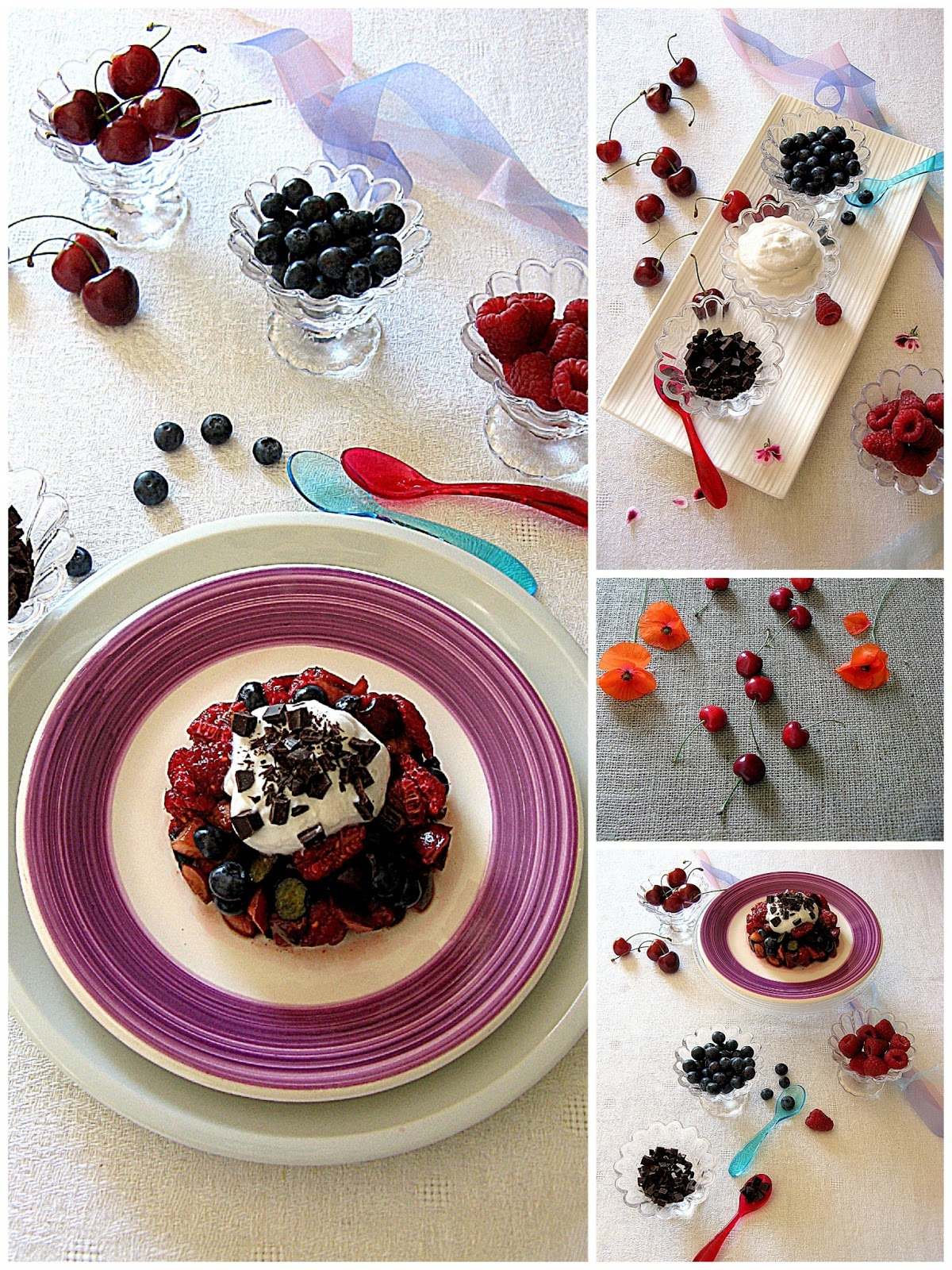 tartare di frutti rossi