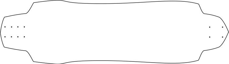 longboard template maker - invaliddesigns 2012 giveaway entry