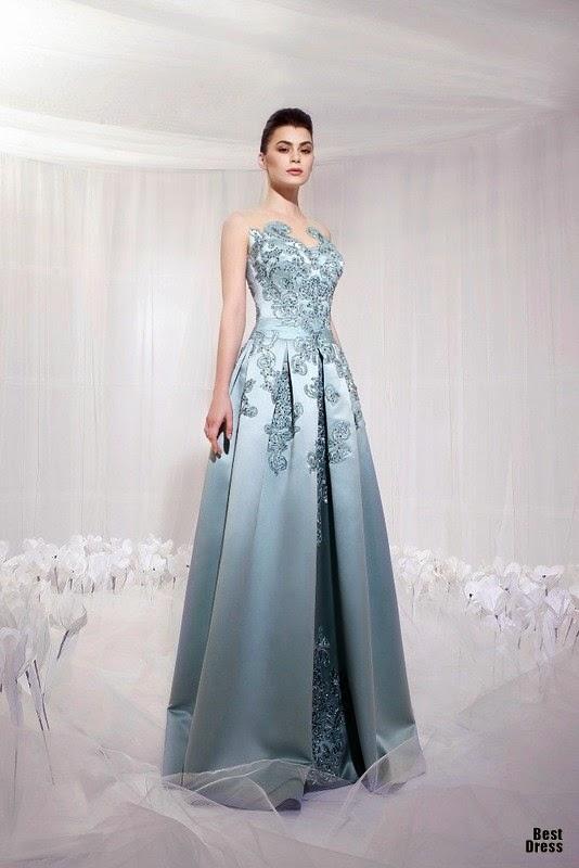 Modas de vestidos de noche para fiesta