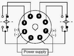 8 Pin Relay Wiring Diagram Normally Open 1 3 furthermore  on proper way of wiring 8pin 120ac volts coil relay