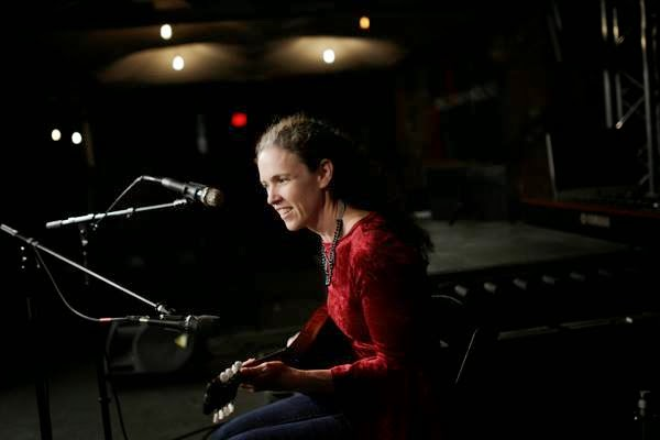 Marcy Paulson of Tin Cup Rattlers plays at River City Sessions