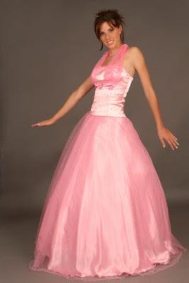 Vestido de fiesta 15 rosado