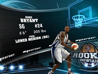 NBA 2K13 Kobe Bryant MyPlayer Profile