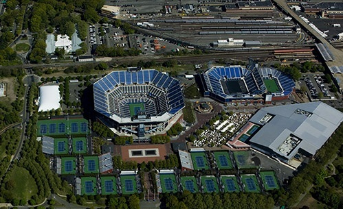Photographs Of Usta National Tennis Center Venue For The