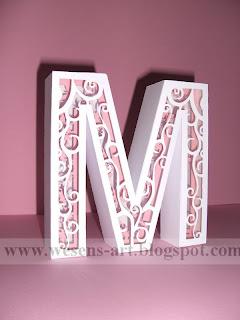 3D Letters 3     wesens-art.blogspot.com
