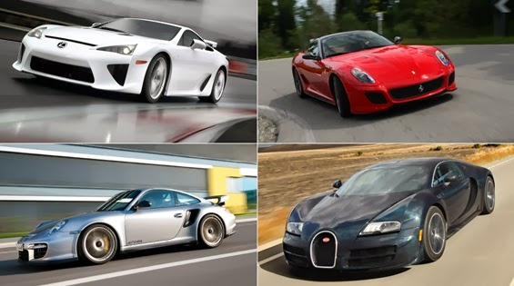 Vrrooom: The 10 Fastest Production Cars in the World 2013/2014 ...