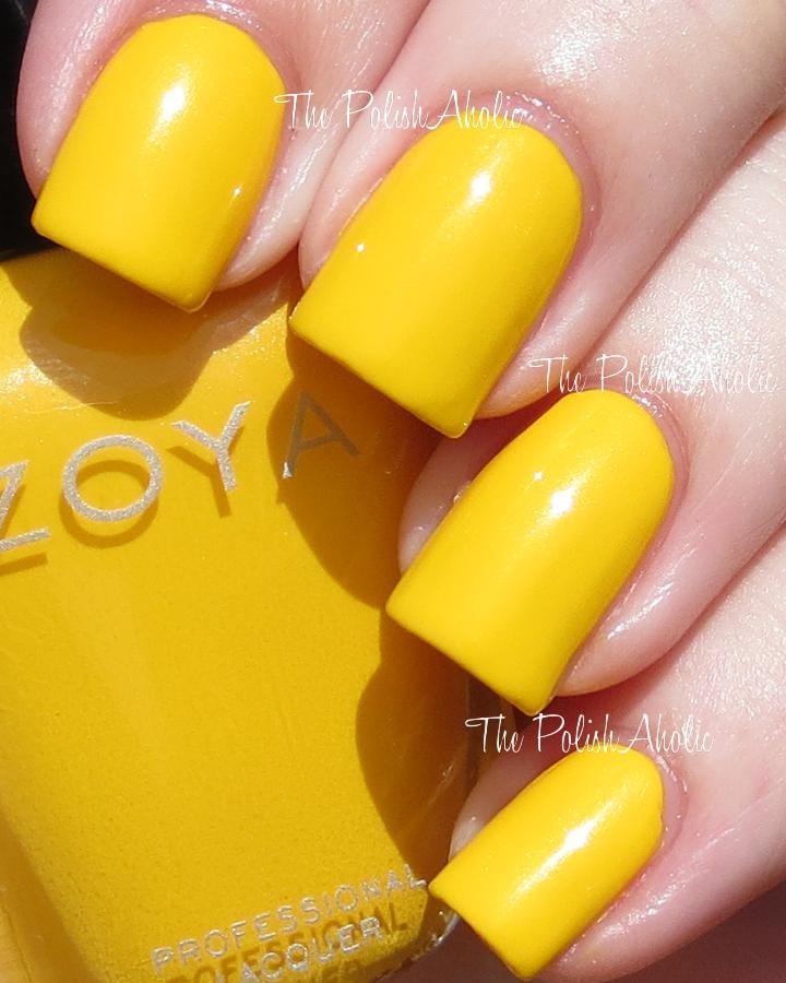 The PolishAholic Zoya Summer 2013 Stunning Collection Swatches