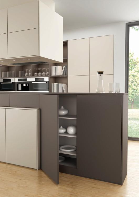 Una cocina que divide espacios cocinas con estilo - Disenar tu cocina ...