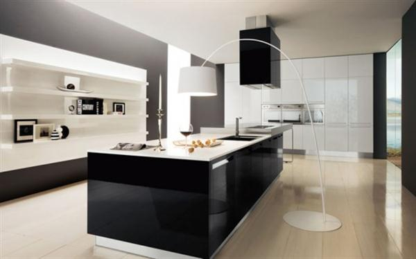cuisine-decoration: style ultra-moderne