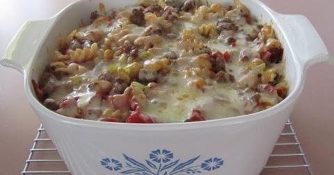 Pasta Fagioli #Casserole #Recipe by Karen Rose Smith