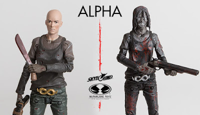 Skybound Entertainment Exclusive The Walking Dead Comic Book Alpha Action Figure by McFarlane Toys