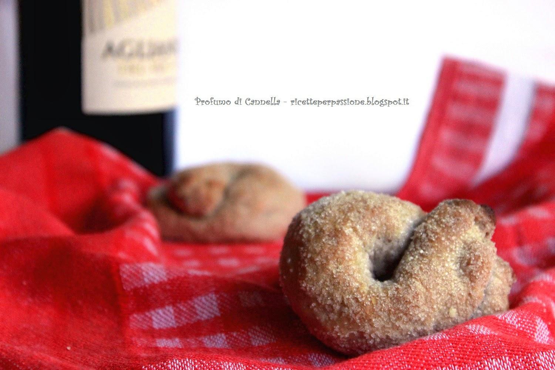 biscotti al vino rosso - gusto e convivialità