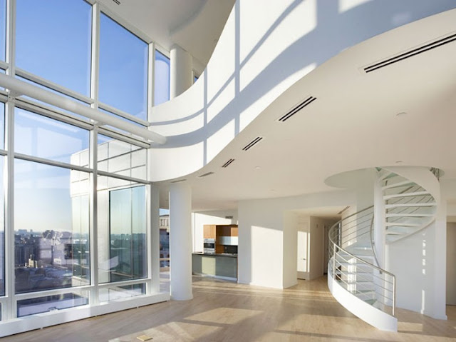 Photo of interiors in one of the most beautiful penthouses