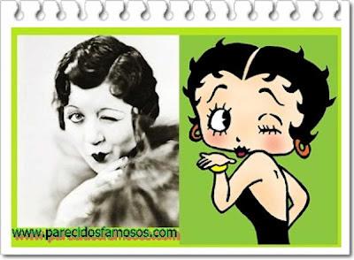 Mae Questel con Betty Boop