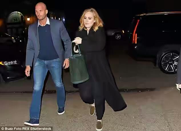 Check out Adele's hot new bodyguard