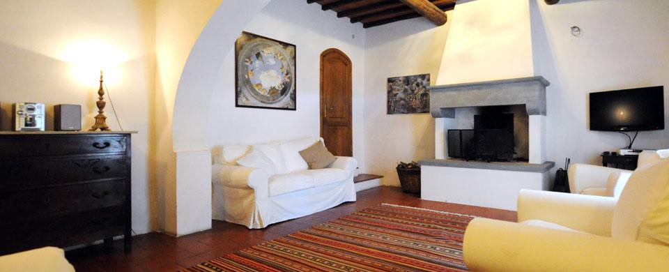 Tuscan farmhouse vacation rental