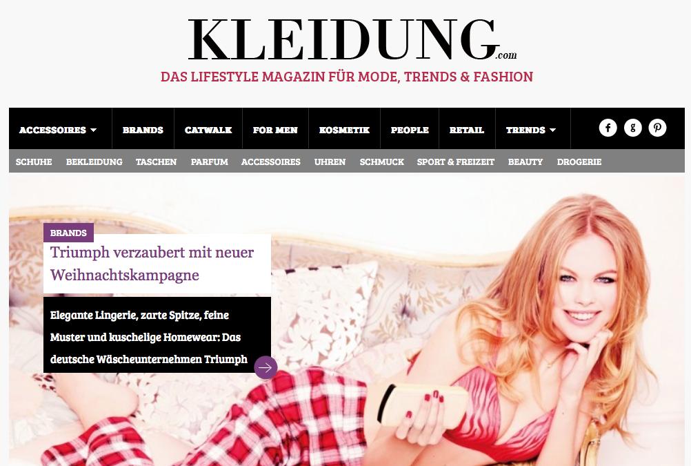 kleidung.com