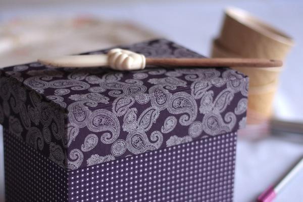 Ro Guaraz · caja de recetas · 15 · caja terminada