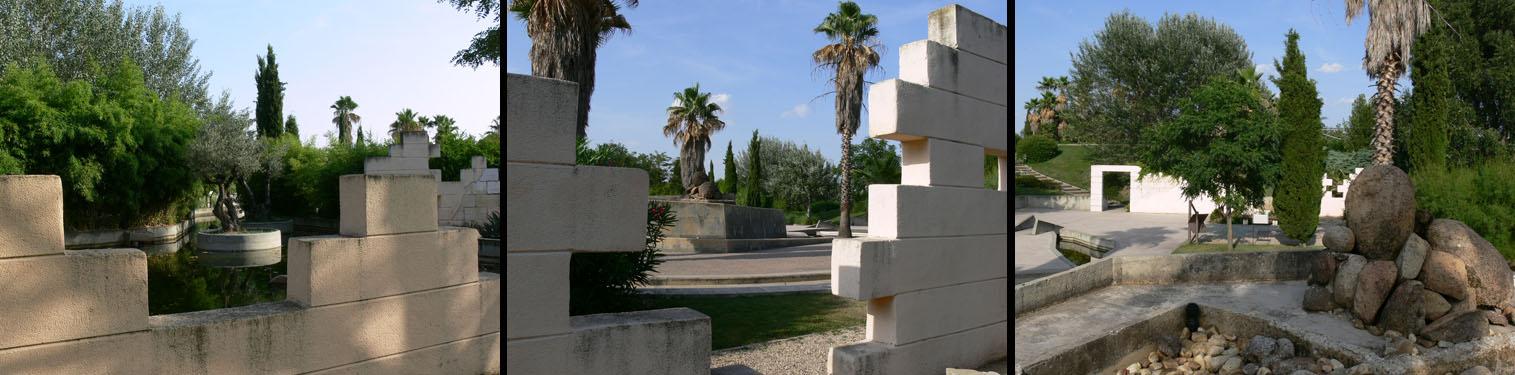 Barajas bic el jard n de las tres culturas for Jardin islamico