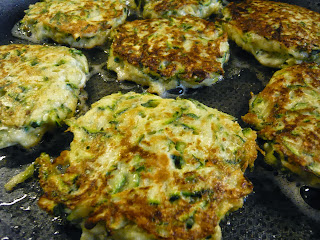 courgette zucchini fritter recipe