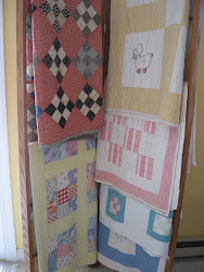 Old Quilts Add Softness