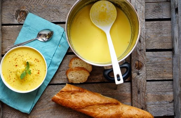 Soup with Saffron Recipe