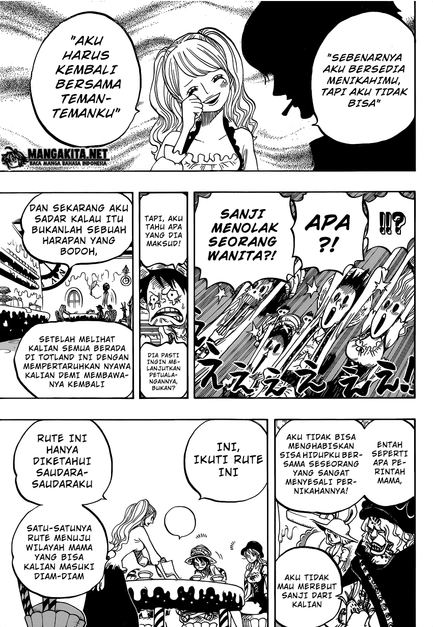 One Piece Chapter 828-11