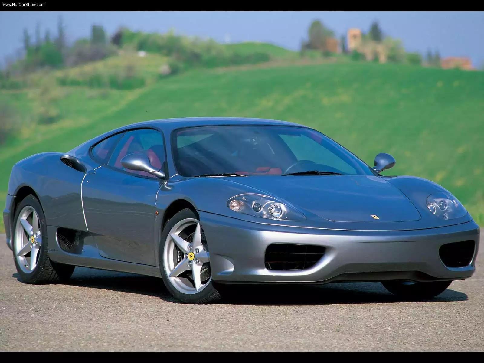 Hình ảnh siêu xe Ferrari 360 Modena 2001 & nội ngoại thất
