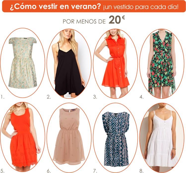 Como vestir en verano: 40 vestidos