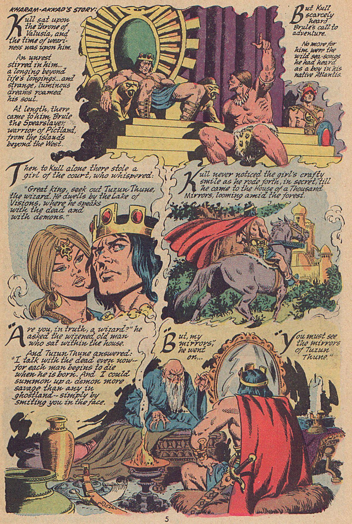 Conan the Barbarian (1970) Issue #25 #37 - English 5
