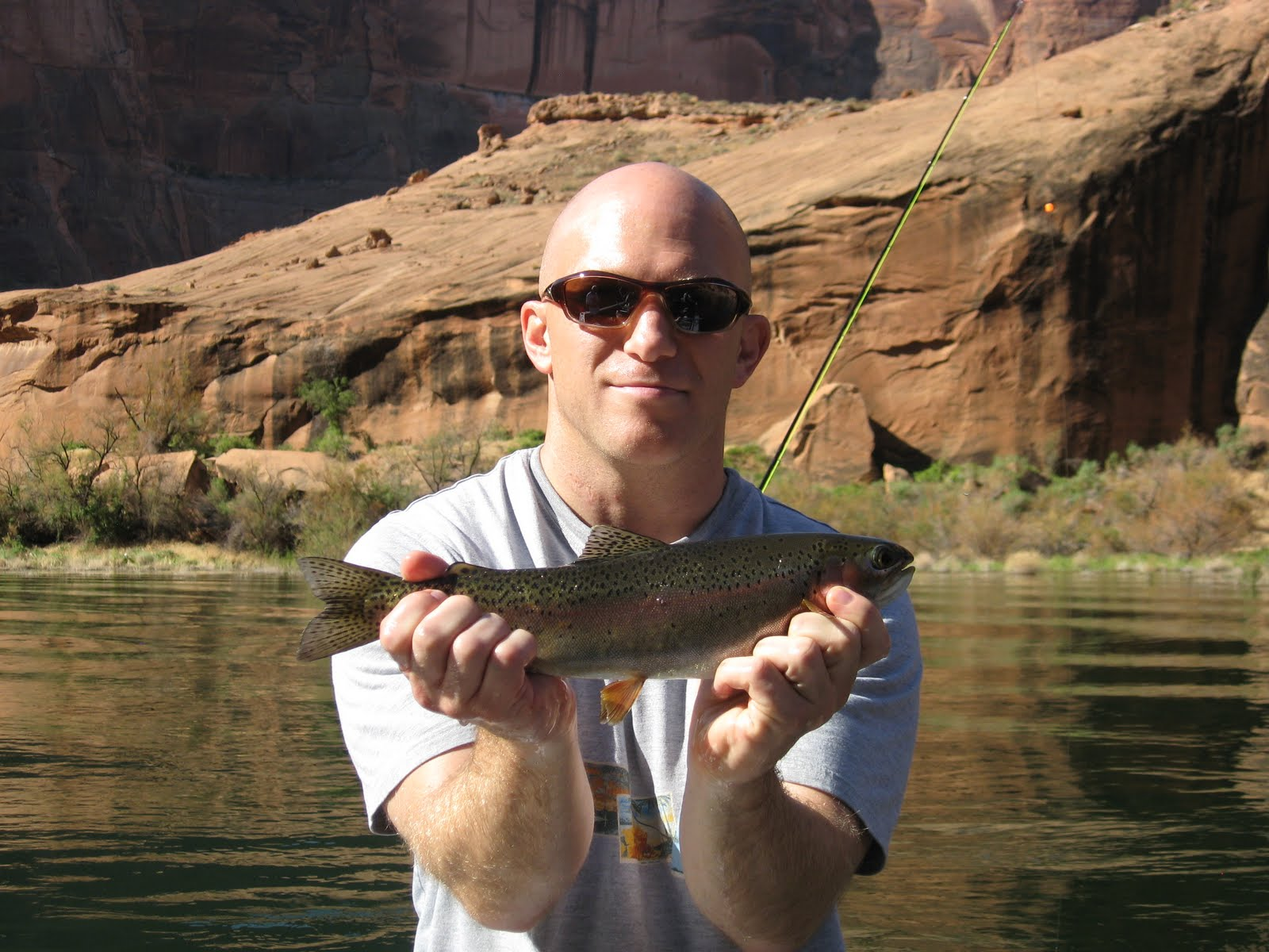 Lees ferry fishing report lees ferry az for Is fishing good today