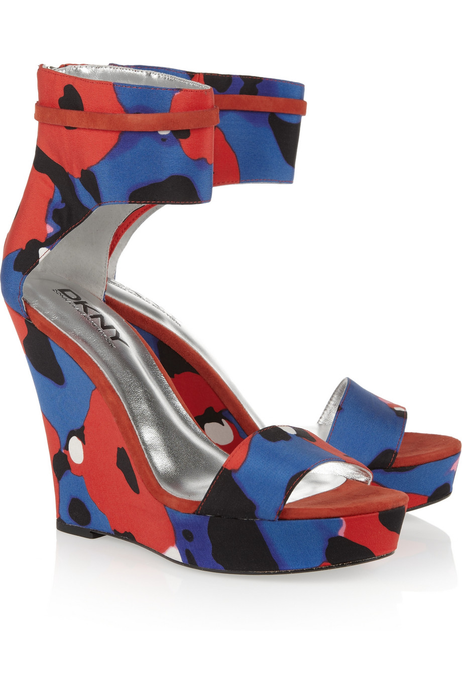 Blue And Red Heels