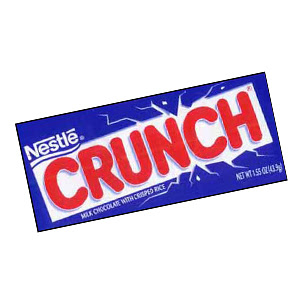 Nestle Crunch'sfirst TV campaign in five years begins today