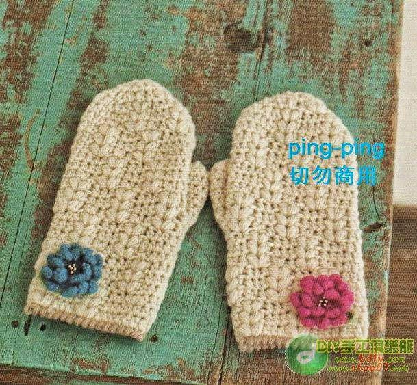 related to crochet mittens crochet mittens for beginners crochet ...
