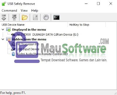 cara mudah mencabut usb drive atau flashdisk dengan aman dengan usb safely remove