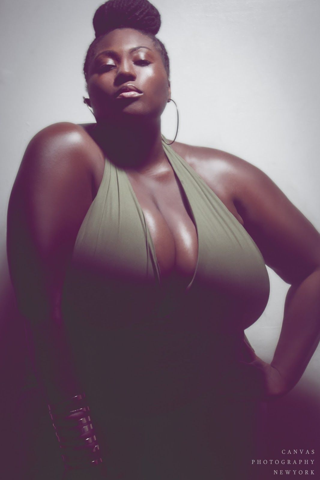 beautiful black bbw