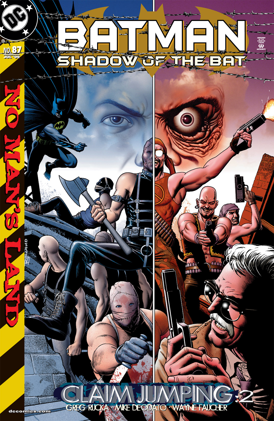 Batman: Shadow of the Bat 87 Page 1