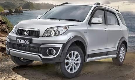 Daftar harga mobil Daihatsu Terios Baru 2014