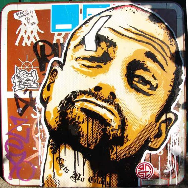 Arte de rua de RNST
