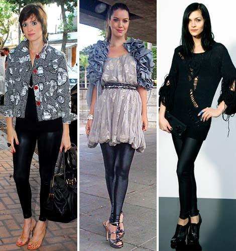 Um bom truque para harmonizar seu look é usar a legging que é ...