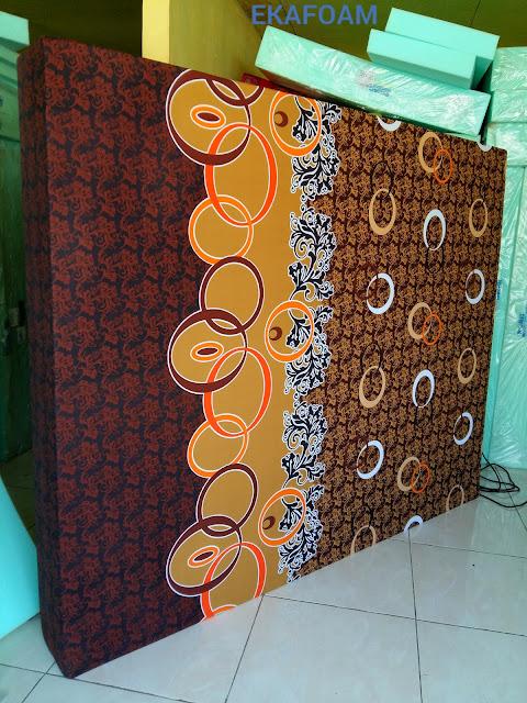 Kasur busa inoac terbaru 07 januari 2016 motif batik cincin coklat 2