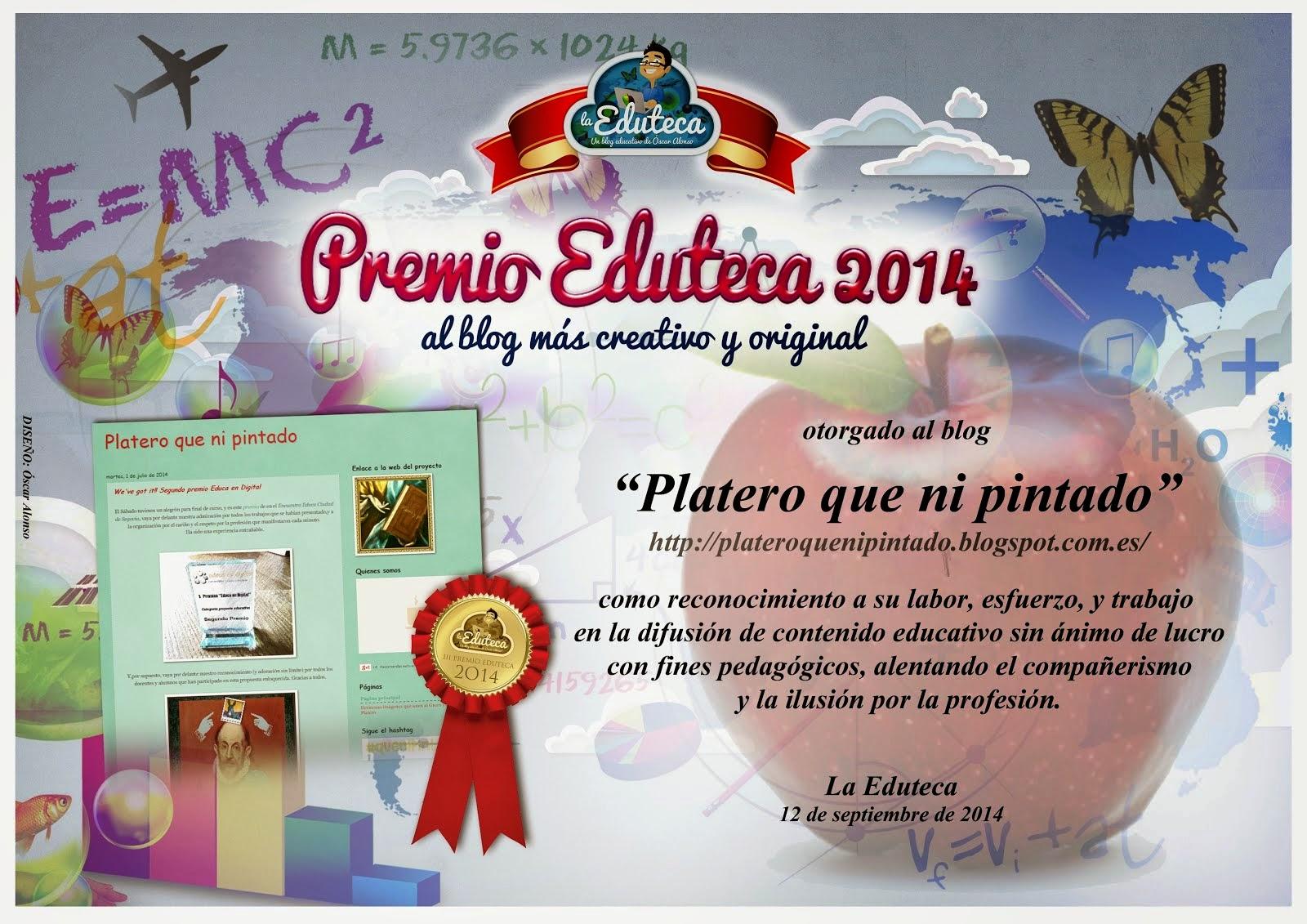 Premio La Eduteca al blog más creativo y original