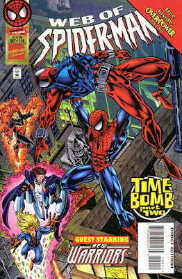 Web of Spider-Man 129 Cover