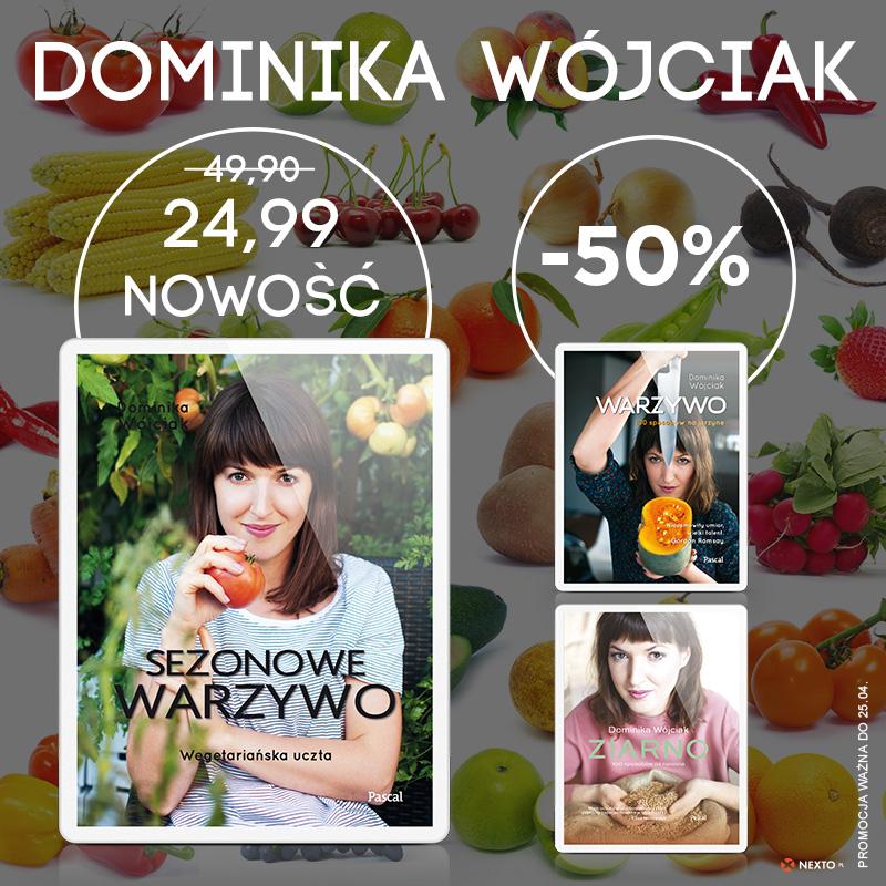 Dominika Wójciak z Kulinarnych Bezdroży do -50% taniej na Nexto.pl