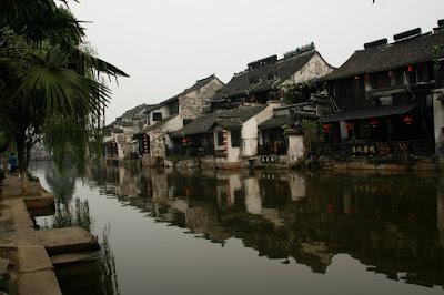 Canal de Xitang.