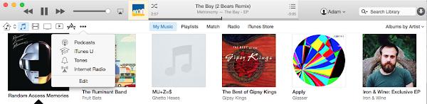 iTunes 12.0 beta