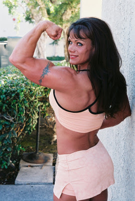 Female Bodybuilder - Cathy LeFrancois