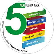 5 NILAI BUDAYA KERJA KEMENAG